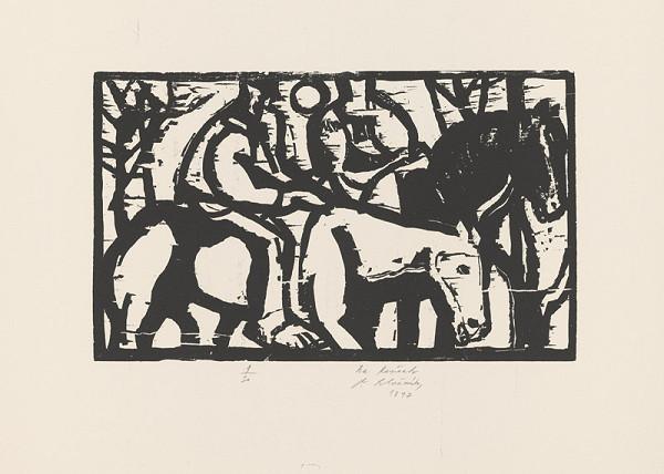 Vincent Hložník - Na koňoch
