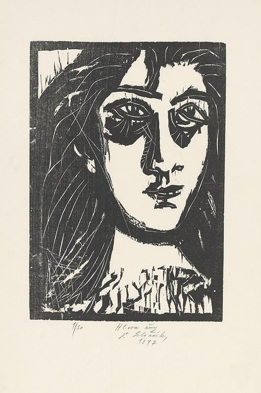 Vincent Hložník - Hlava ženy