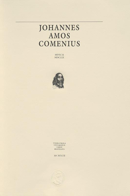 Rudolf Cigánik - Bibliofília Johannes Amos Comenius