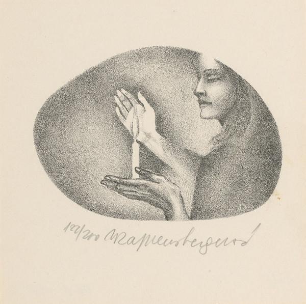 Naďa Rappensbergerová-Jankovičová – PF 1972 - Graphic art