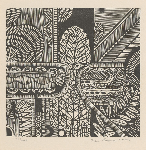 Ivan Horyna – PF 1972 - Graphic art
