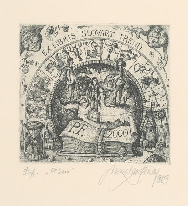 Miroslav Knap – Ex libris - Slovart trend