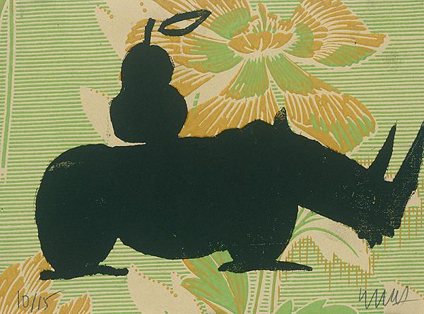 Jacques Barry – Nosorožec s hruškou
