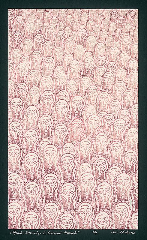 Milan Sokol - Výkrik -  Hommage à Edvard Munch