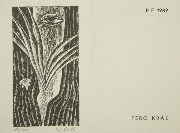 Fero Kráľ – PF 1989