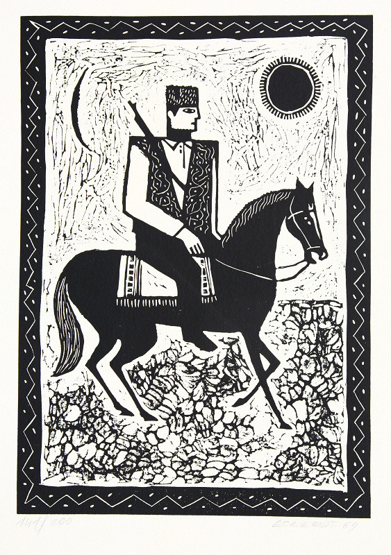 Alexander Eckerdt – Partizán na koni