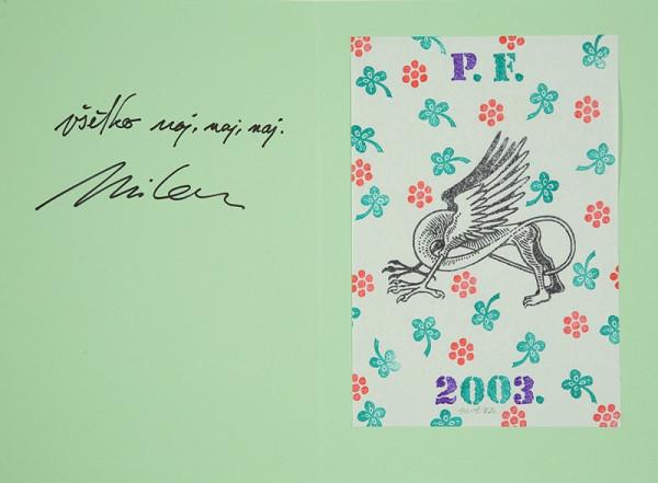 Milan Sokol – PF 2003