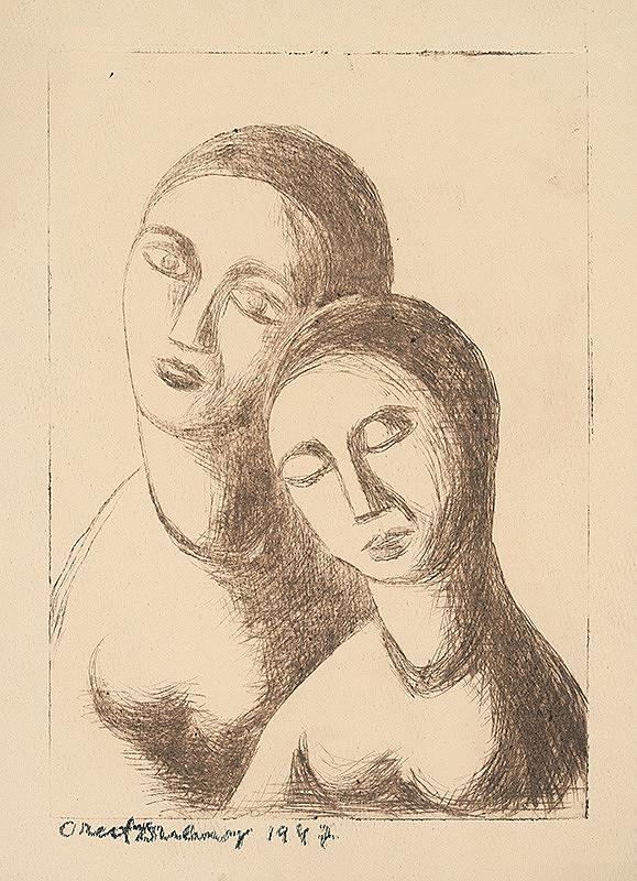 Orest Dubay – Matka s dcérou