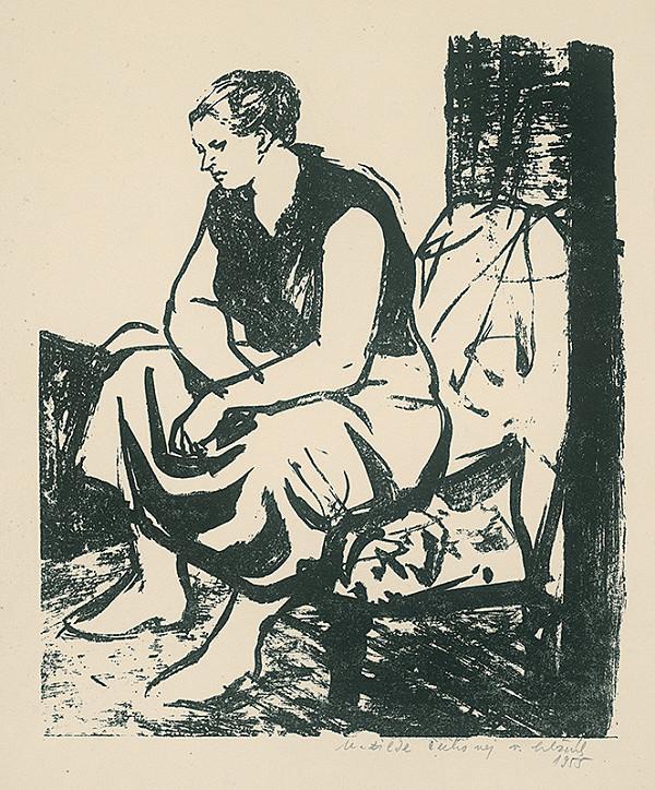 Vincent Hložník – Žena v kresle