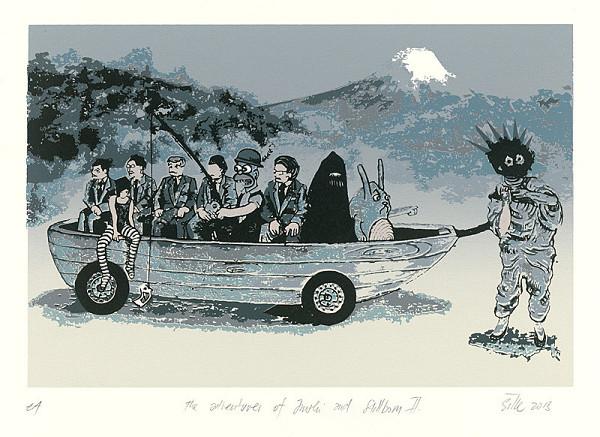 Erik Šille - Adventures of Junshi and Stillborn II.