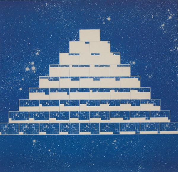 Rudolf Sikora - Z cyklu Pyramída... Civilizácia ...Diagramy... 2
