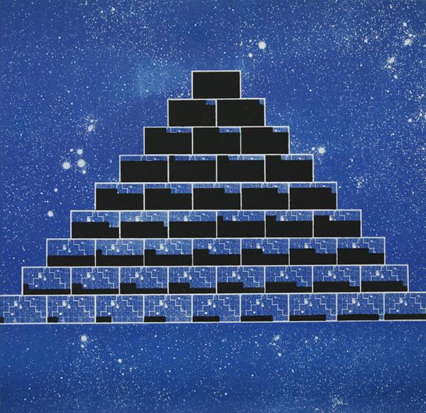Rudolf Sikora - Z cyklu Pyramída... Civilizácia ...Diagramy... 3