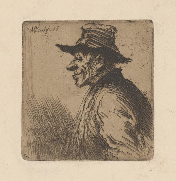 Aleš Veselý - Muž v čiapke z profilu