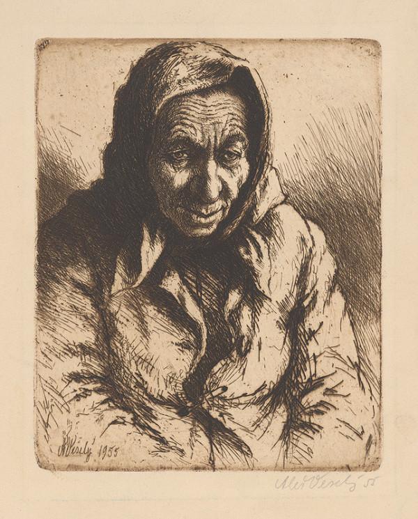 Aleš Veselý – Žena v šatke