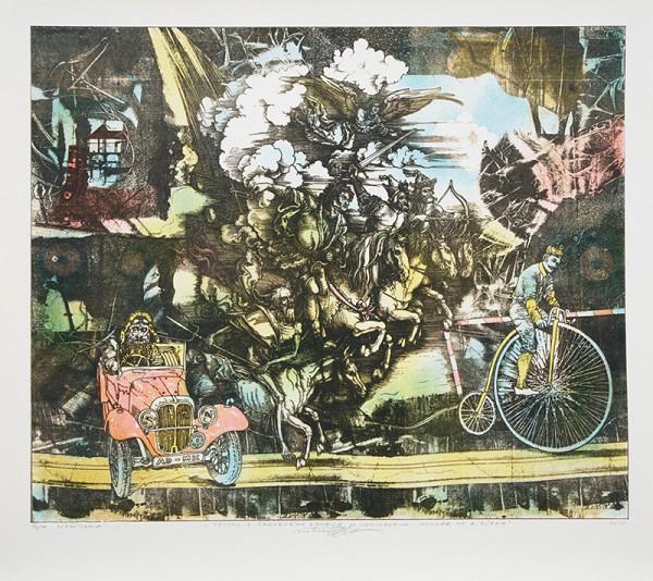 Marián Komáček - Cestou z Červeného Kameňa do Norimbergu - Homage to A. Dürer