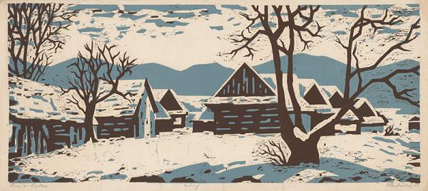 Edita Ambrušová – Zima v Liptove