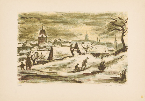 Jiří Mádlo – Prvý sneh