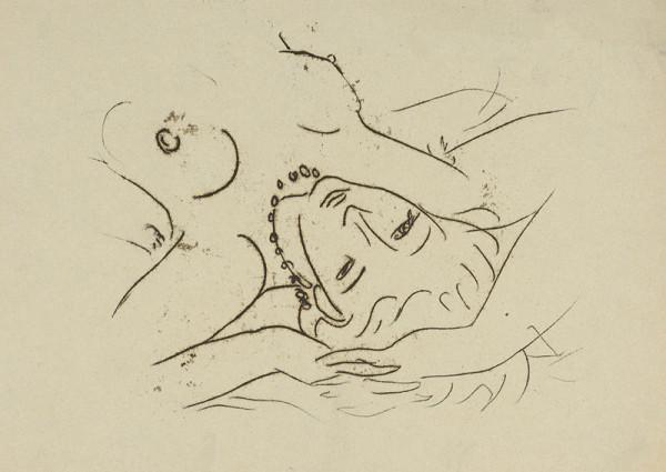 Eugen Nevan – Žena s náhrdelníkom