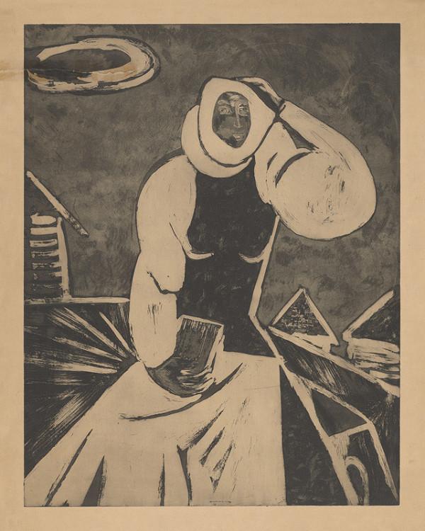 Eugen Nevan - Žena s knižkou