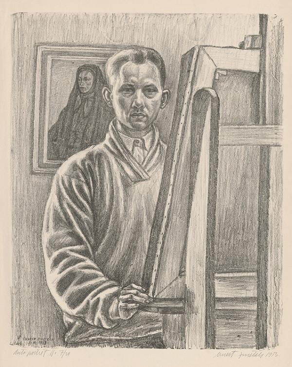 Ernest Zmeták - Autoportrét II.