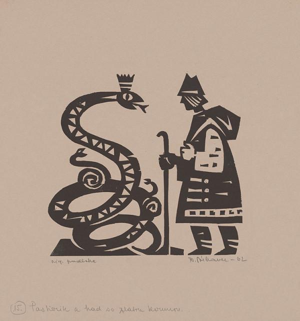 Róbert Dúbravec - Pastierik a had so zlatou korunkou