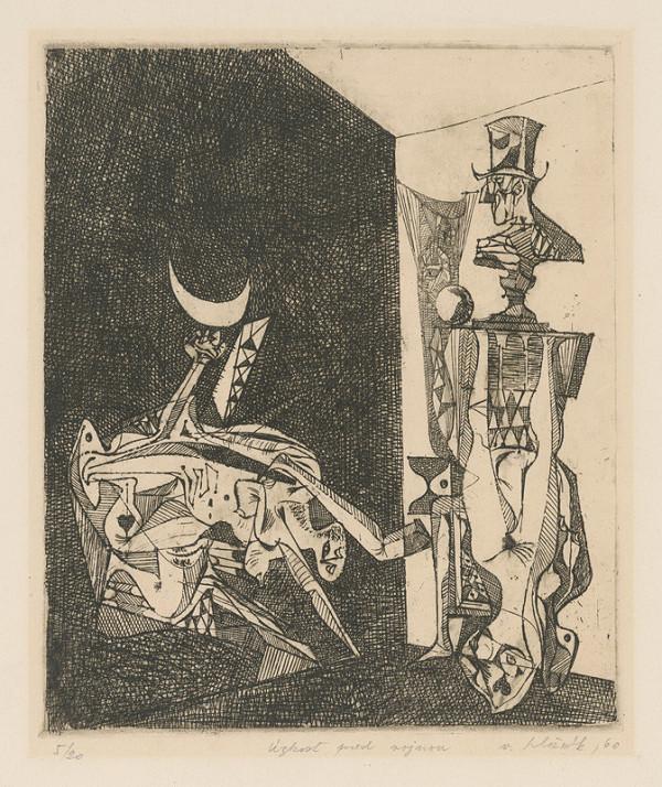 Vincent Hložník - Úzkosť pred vojnou