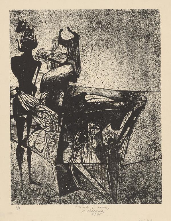 Vincent Hložník – Človek a zviera