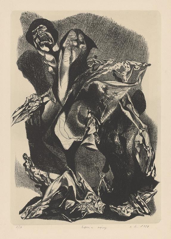 Vincent Hložník - Agónia vojny