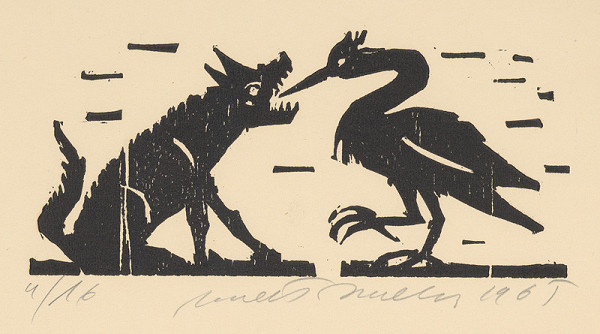 Ernest Zmeták - Vlk a volavka