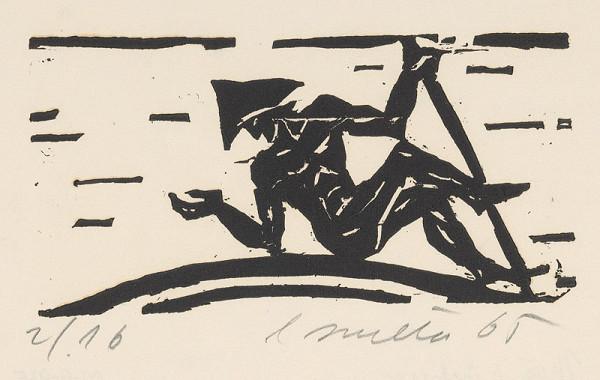 Ernest Zmeták – Muž s palicou