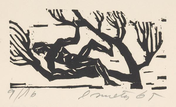 Ernest Zmeták - Muž na strome