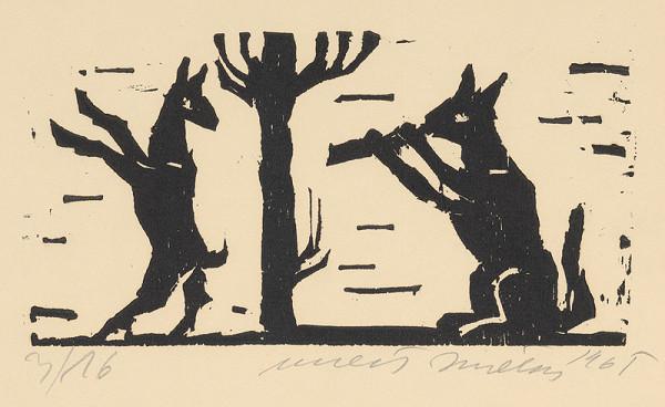 Ernest Zmeták - Kozľa a vlk