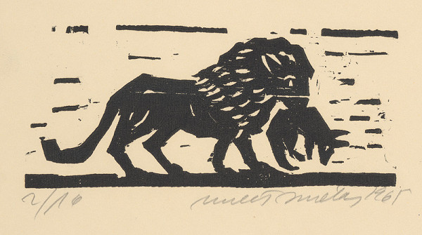 Ernest Zmeták - Osol, líška a lev