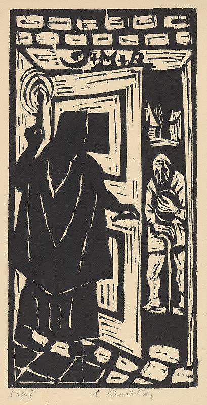 Ernest Zmeták - Žena a žobrák