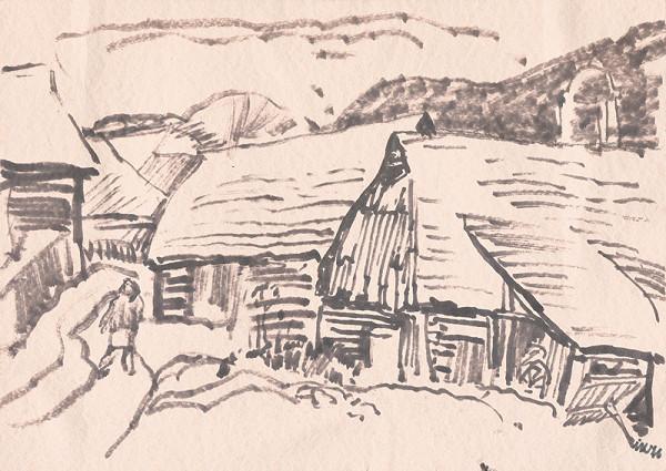Ignác Kolčák – Motív z Oravy