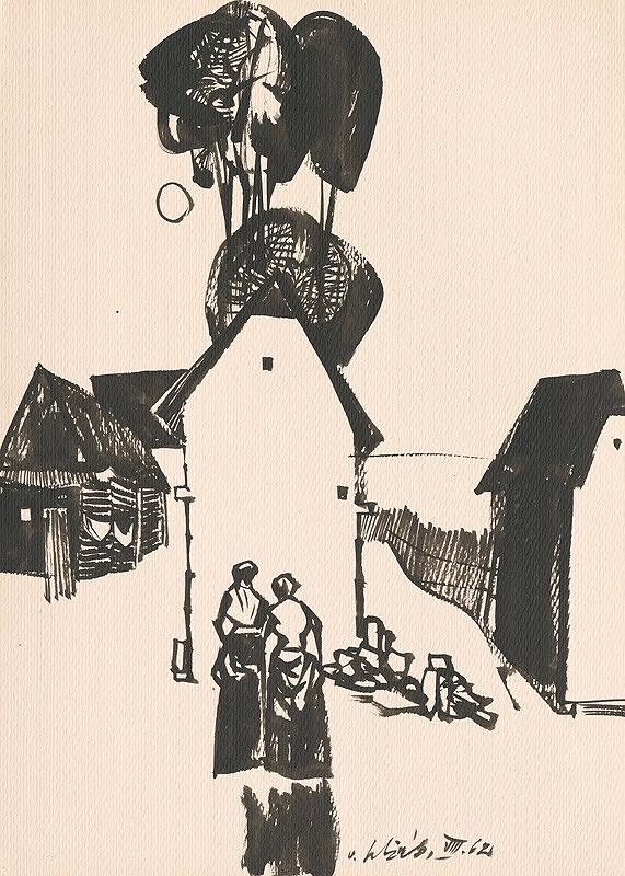 Vincent Hložník – Kresba z Oravy LXIII.