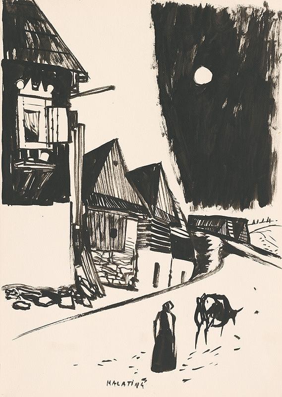 Vincent Hložník – Kresba z Oravy LXVIII.