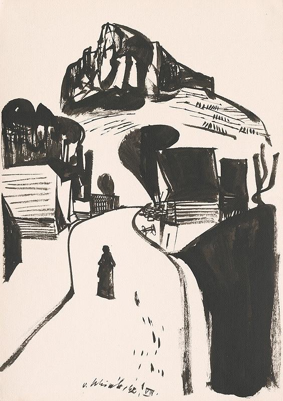 Vincent Hložník - Kresba z Oravy LXIX.