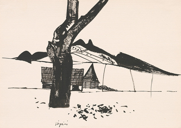 Vincent Hložník – Kresba z Oravy LXXI.