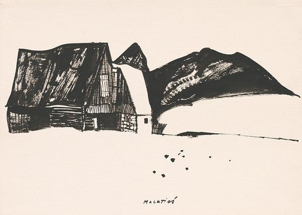 Vincent Hložník – Kresba z Oravy LXXII.