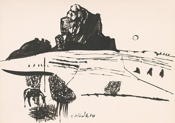 Vincent Hložník - Kresba z Oravy LXXIII.