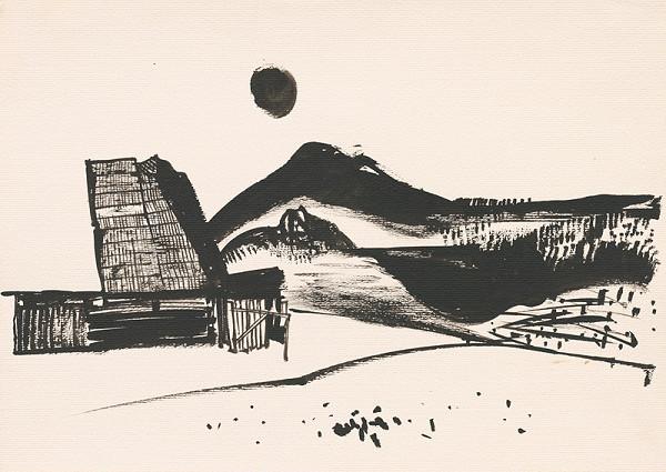 Vincent Hložník – Kresba z Oravy LXXIV.