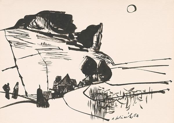 Vincent Hložník – Kresba z Oravy LXXV.
