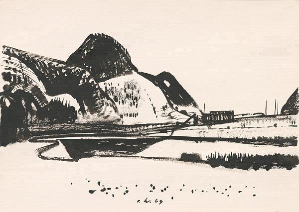 Vincent Hložník – Kresba z Oravy LXXVI.