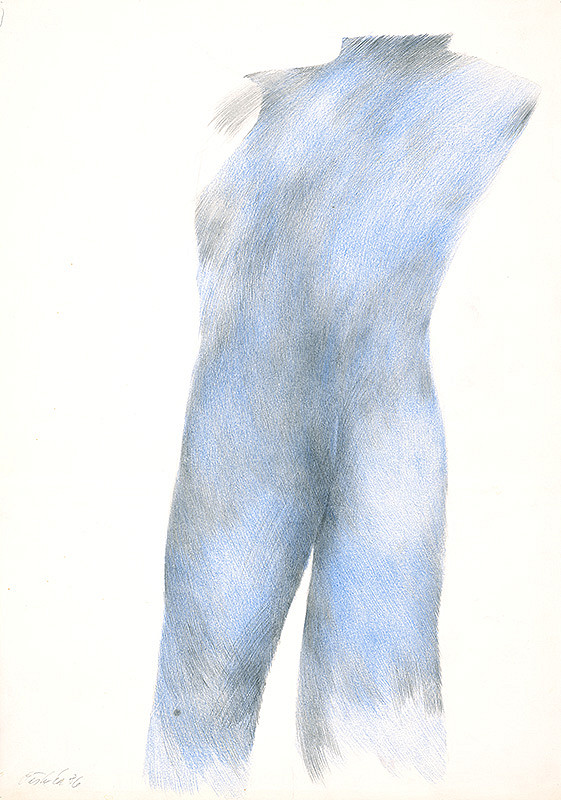Milan Paštéka - Modré torzo