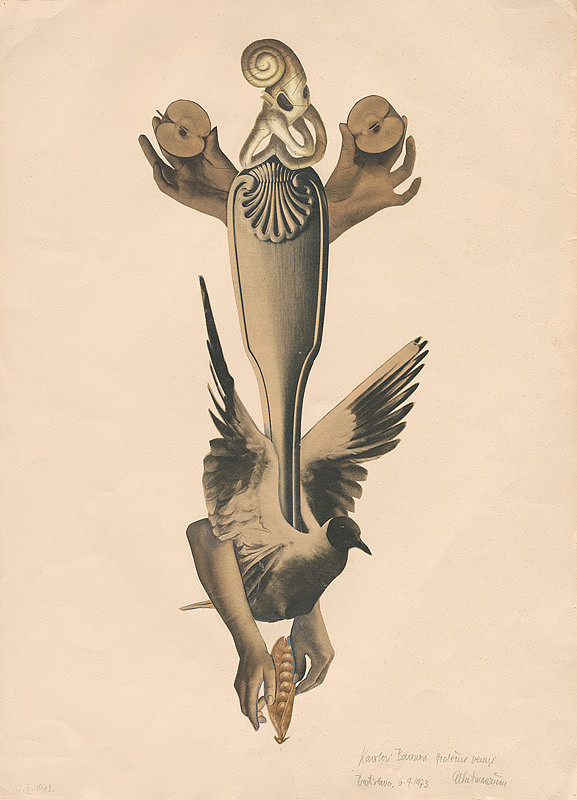 Albert Marenčin – Surrealistická koláž