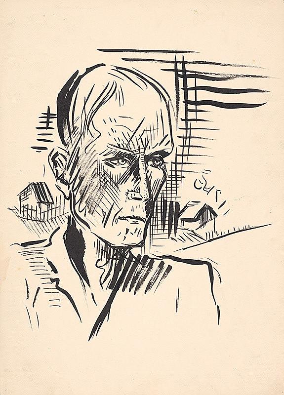 Arnold Peter Weisz-Kubínčan – Mužský portrét I.