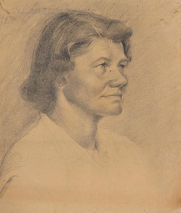 Jaroslav Kubička - Ženský portrét II.