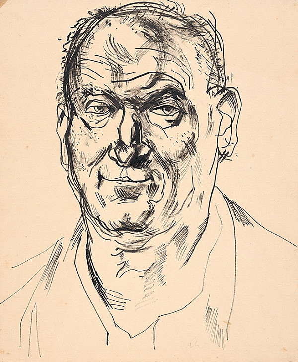 Jaroslav Kubička - Mužský portrét