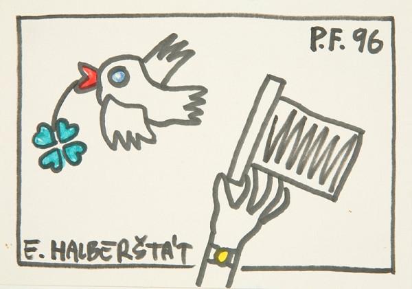 Eduard Halberštát - PF 1996